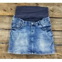 Mini jupe en jeans NPPS, XS